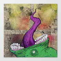 Feed Me Canvas Print