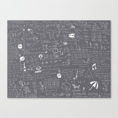 Maths Canvas Print