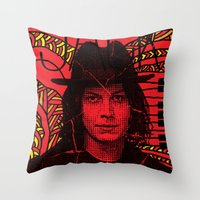 Jack White, we're going to be friends Throw Pillow
