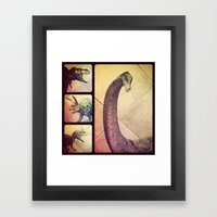 Dino Yearbook 1 Framed Art Print