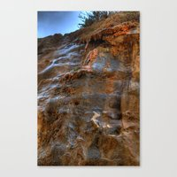The Cliffs Of Israel Canvas Print