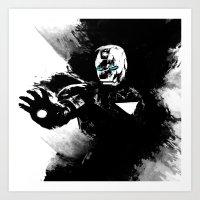 Iron Man: Shadow Edition  Art Print
