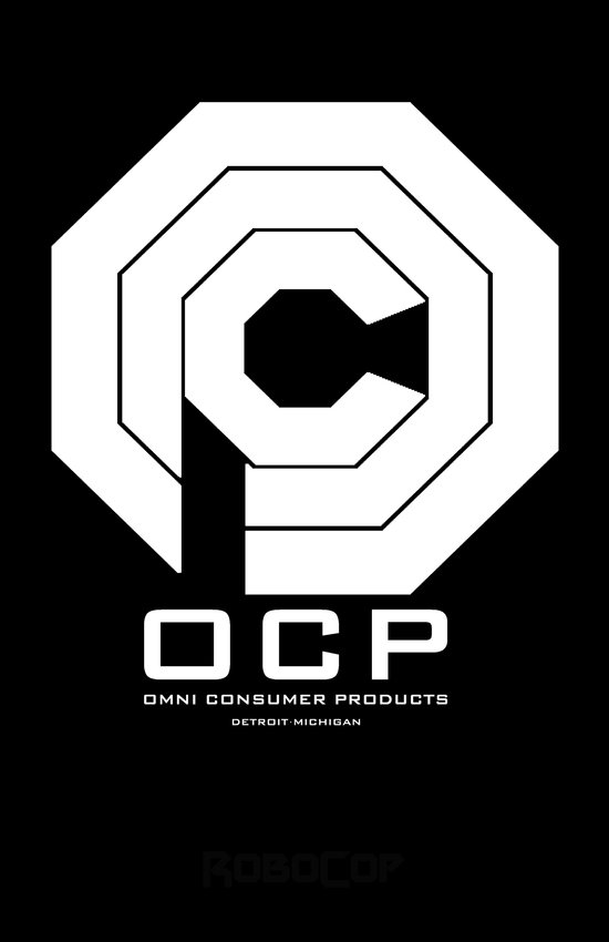 RoboCop- OCP Art Print