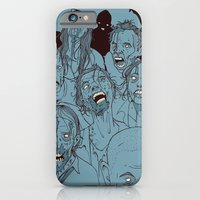 iPhone Cases featuring Everyone you know is dead by hatrobot
