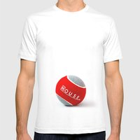 House MD - The End Mens Fitted Tee White SMALL