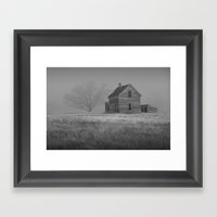 Black And White Photogra… Framed Art Print