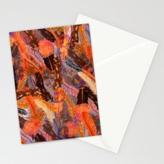 Autumn Feather Sky  Stationery Cards