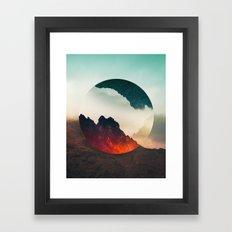 Second Sphere Framed Art Print