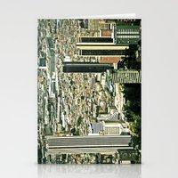 City Under Construction. Stationery Cards