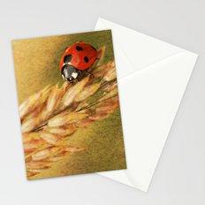 Lady on a Grass Stationery Cards