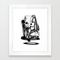 What you hold - Emilie Record Framed Art Print