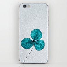 blue clover iPhone & iPod Skin