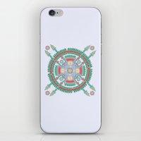 Four Winds Mandala iPhone & iPod Skin