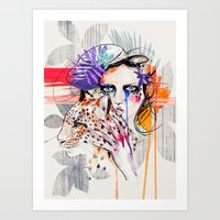 Fashion Kills Art Print
