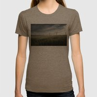 Wind Mils Womens Fitted Tee Tri-Coffee SMALL