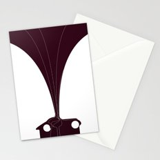 Silhouette Racers - Talbot Lago Teardrop Coupe Stationery Cards