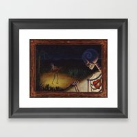 La Serenata Framed Art Print