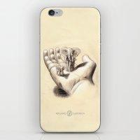 Pocket Elephants iPhone & iPod Skin