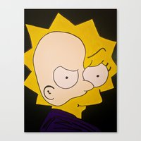 Phantom of Springfield Canvas Print