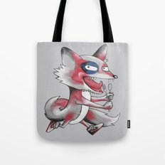 Hungry Fox Tote Bag
