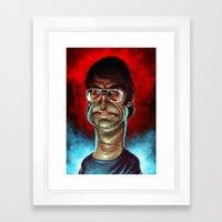 King Of Horror Framed Art Print