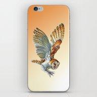 Barn Owl Landing  iPhone & iPod Skin