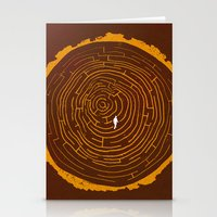 Stumped Stationery Cards