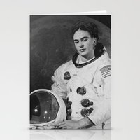 Frida in Space Stationery Cards