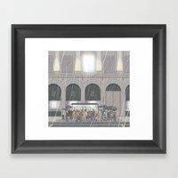 Summer In London Framed Art Print