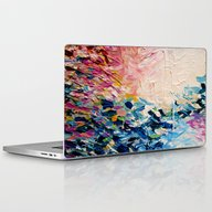 PARADISE DREAMING Colorf… Laptop & iPad Skin