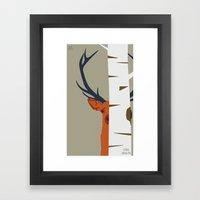 Strange Buck Framed Art Print