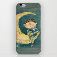 Dreamy Boy iPhone & iPod Skin