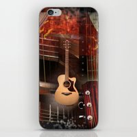 The Acoustic Guitar  iPhone & iPod Skin