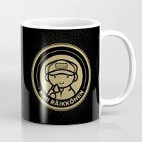 Chibi Kimi Raikkonen - Lotus F1 Team Mug