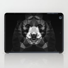 Bear - Black Geo Animal Series iPad Case