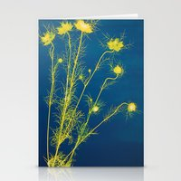 Photogram - Love in the Mist II Stationery Cards