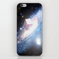 Space Cube iPhone & iPod Skin