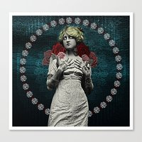 MOTHER OF MERCY Canvas Print
