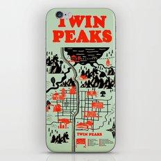 Twin Peaks Map iPhone & iPod Skin