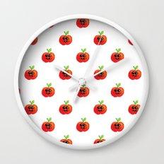 Apple Cutie Wall Clock