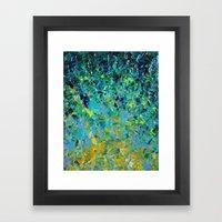 BEAUTY BENEATH THE SURFA… Framed Art Print