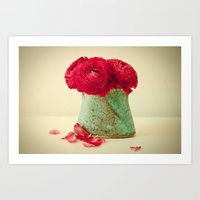 Red Petals Art Print