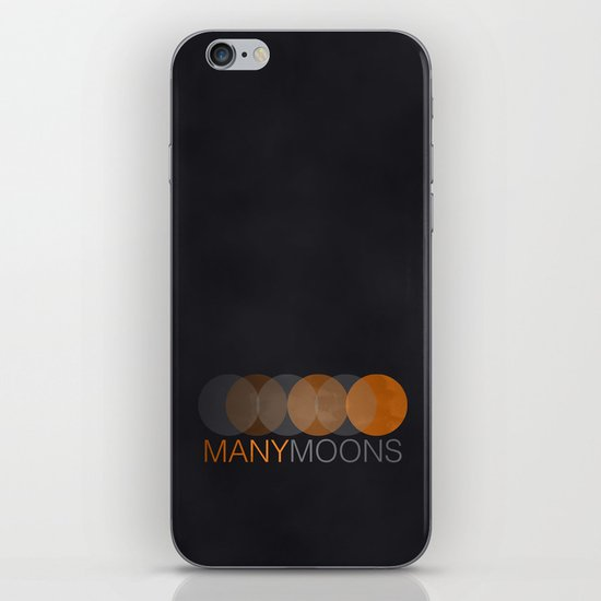 ManyMoons iPhone & iPod Skin