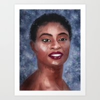 Adina Porter Portrait Art Print