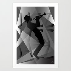 Big Jazz III Art Print