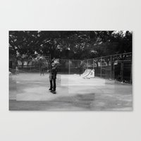 Skater Series #1 Canvas Print