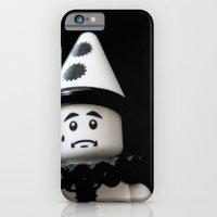 iPhone & iPod Case featuring The Sad Sad Clown by liberthine01