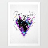 Heart Of Glass - Kris Ta… Art Print