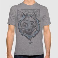 Nalubuff - Arctic Fox Mens Fitted Tee Athletic Grey SMALL