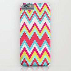 GIRLY SURF CHEVRON iPhone 6s Slim Case